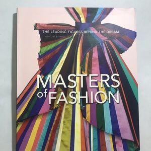 Masters of Fashion Oversized Coffee Table Book
